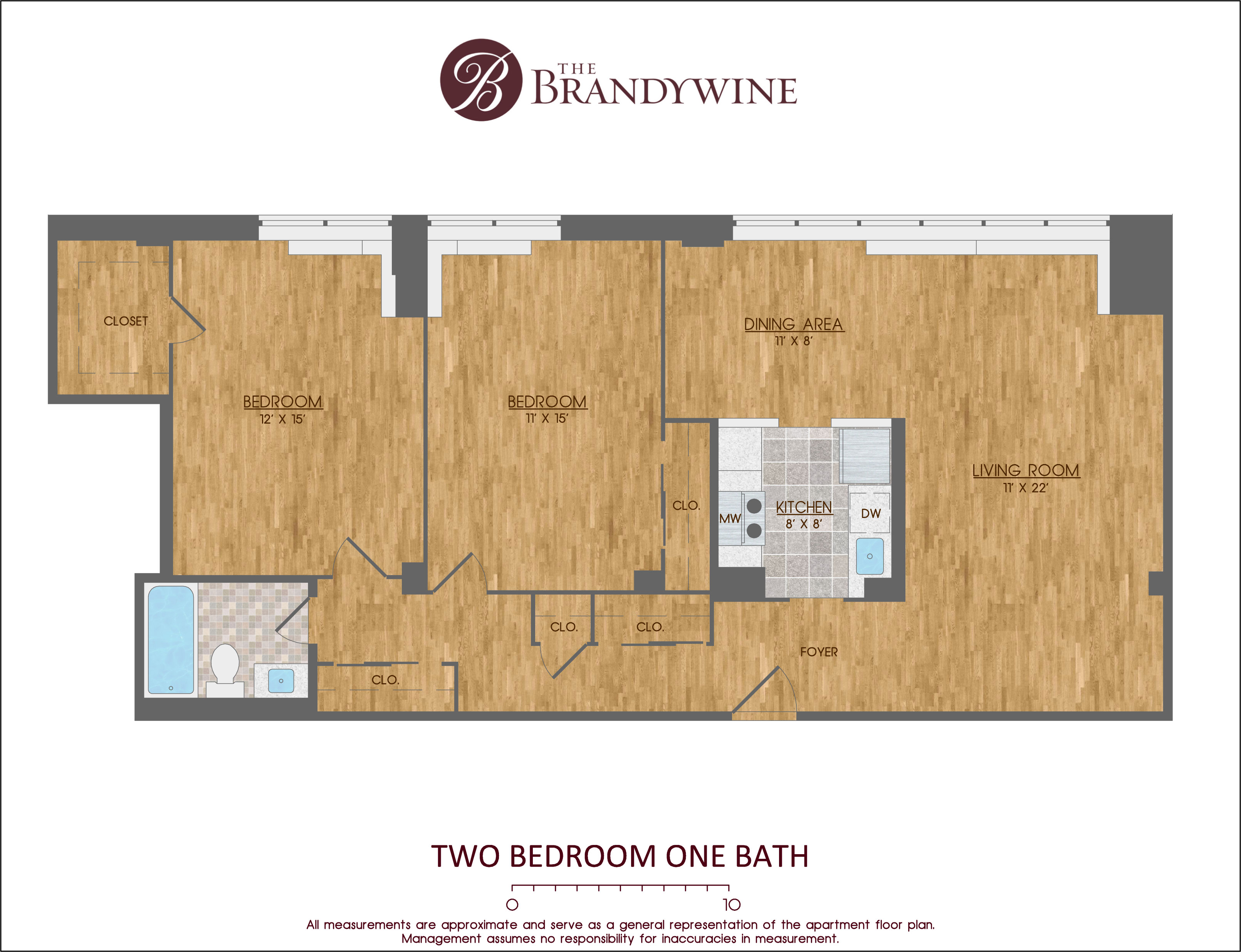 Washington Apartments The Brandywine Apartments Gallery